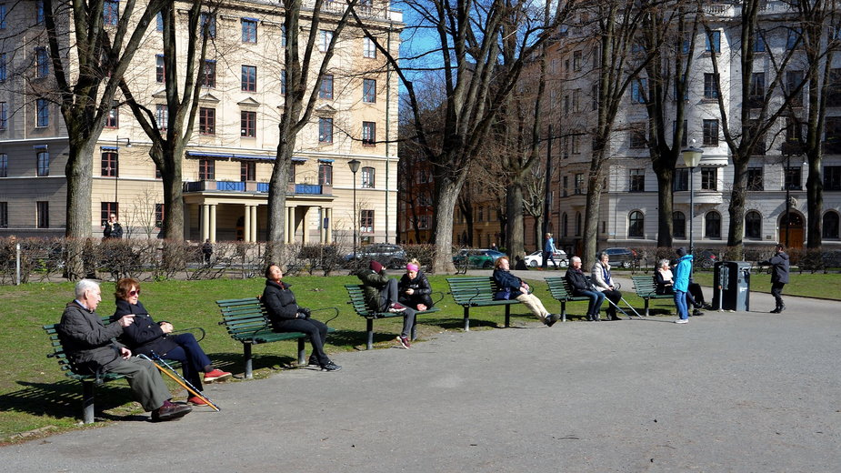 Sztokholm, 5 kwietnia 2020 r.