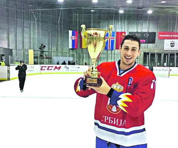 Zna kako se osvajaju trofeji: Marko Milovanović, predsednik Hokejaškog saveza Srbije