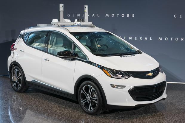 Chevrolet Bolt w wersji do testów autonomicznej jazdy