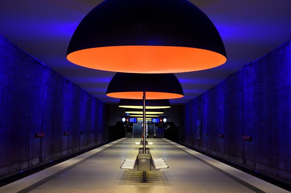 Stacja Westfriedhof w Monachium, w Niemczech
