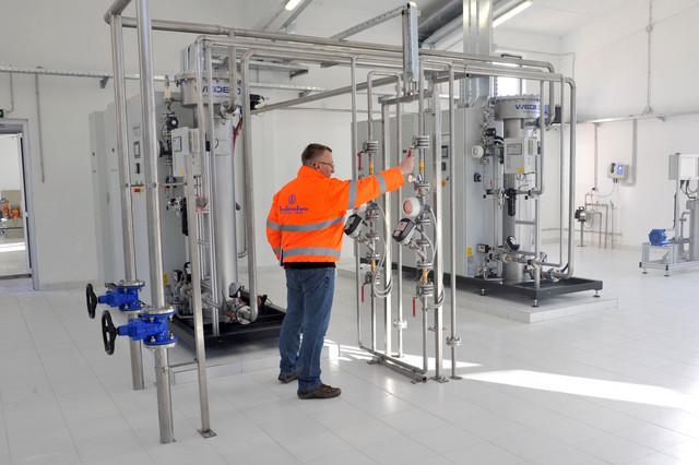 Fabrika za prečišćavanje vode za piće u Užicu