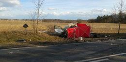 Straszny wypadek pod Opolem. Nie żyje młody mężczyzna