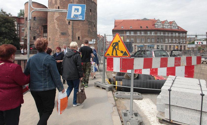 Rozkopany Gdańsk