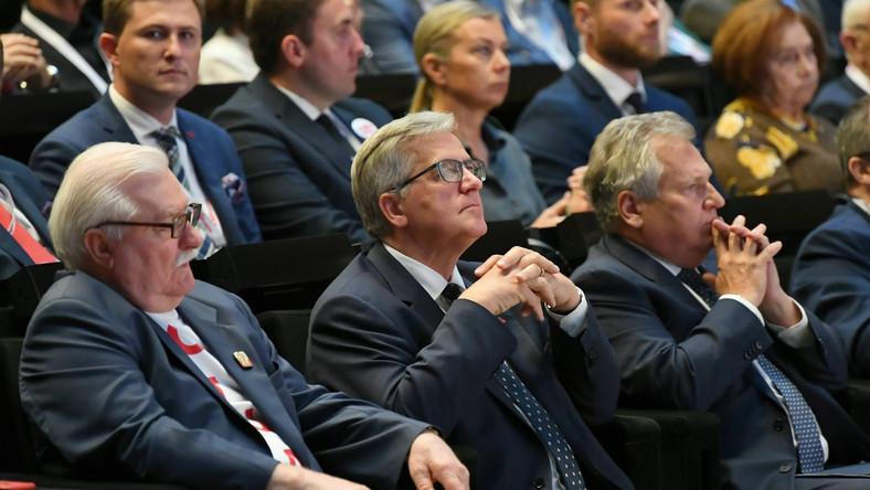 Lech Wałęsa, Bronisław Komorowski, Aleksander Kwaśniewski