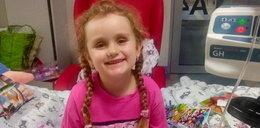 6-letnia Hania walczy na śmierć i życie! Koronawirus zniszczył jej szpik