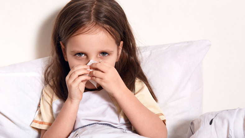 Chore dziecko