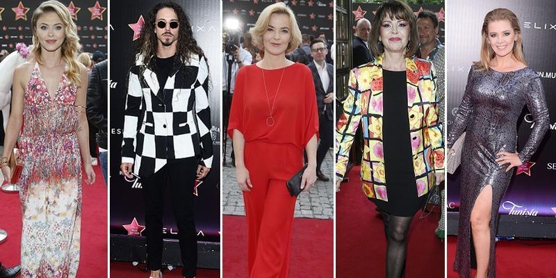 Wielka Gala Gwiazd Plejady 2017: tłum gości na czerwonym dywanie