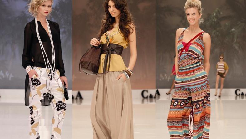 Spodnie z kolekcji C&A na sezon wiosna/lato 2012
