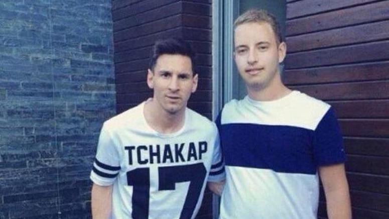 Leo Messi Ma Nowy Tatuaż Piłkę Laliga