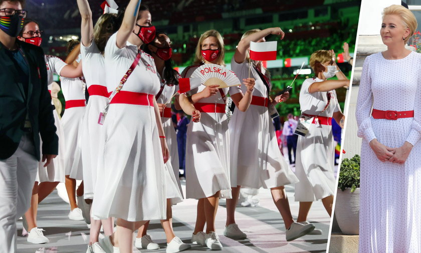 Polskie olimpijki jak Agata Duda.