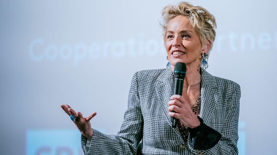 Sharon Stone na festiwalu w Zurychu