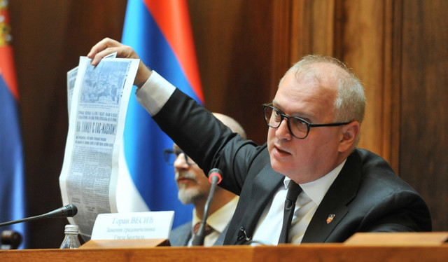 Zamenik Gradonačelnika Goran Vesić