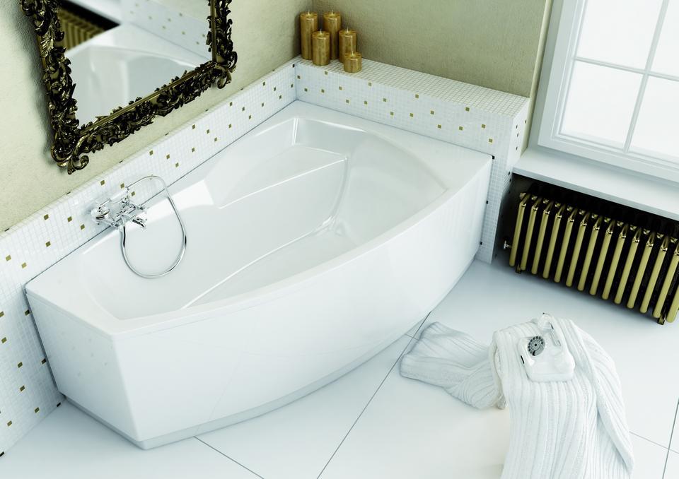 Wanny idealne do małych łazienek