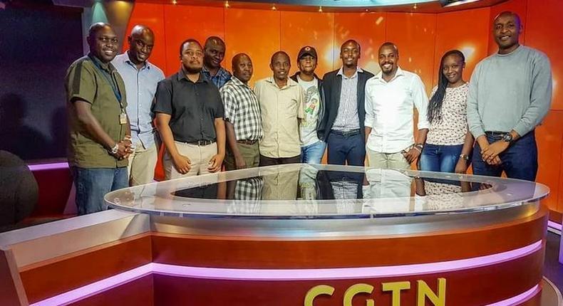CGTN employees