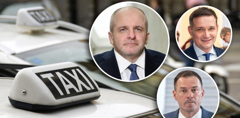 Posłowie przebimbali 800 tys. zł na taksówki. Rekordzista trzy razy taryfą objechał całą Polskę!