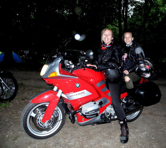Branka, Valentina i motor Rumanka