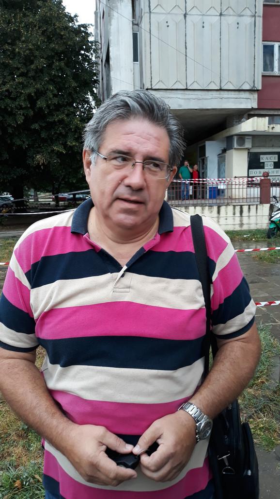 Srboljub Stošić, vlasnik stana