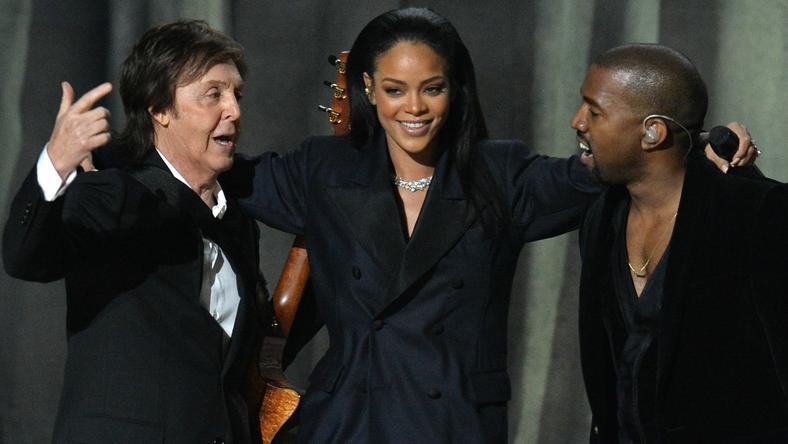 Paul McCartney, Rihanna i Kanye West na 57. rozdaniu Grammy Awards