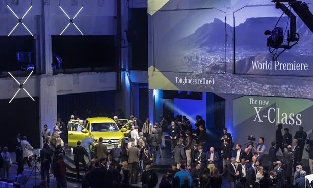 Mercedes Klasy X - światowa premiera w Kapsztadzie
