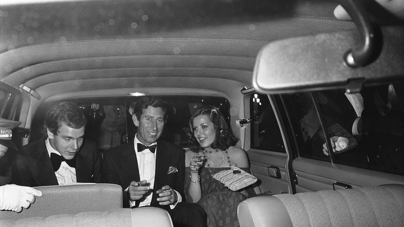 Książę Albert, Książę  Karol Księżna Karolina w limuzynie. Monte Carlo (a jakże), rok 1977