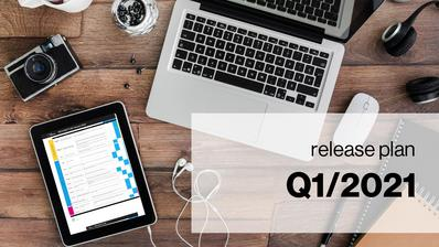 Release plan Q1 2021