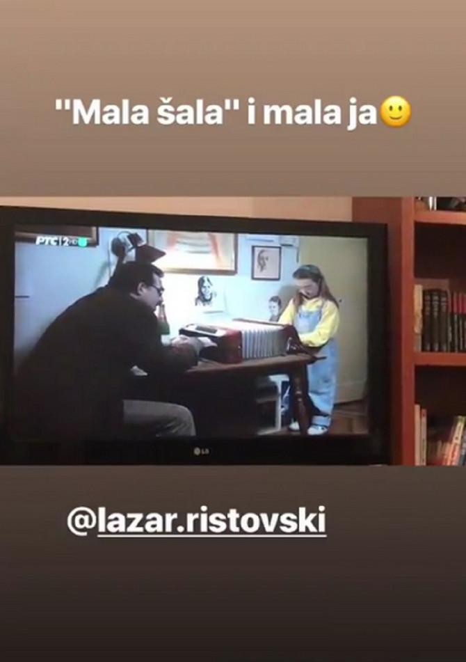 """Naša glumica i Lazar Ristovski u filmui """"Mala šala"""""""