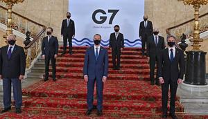 G7 foreign ministers.