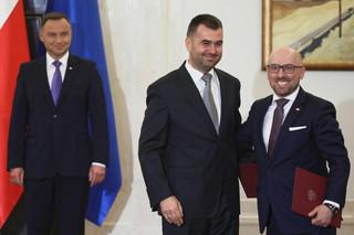 Spychalski zastąpi Łapińskiego. Trzech ministrów będzie reprezentować prezydenta w mediach