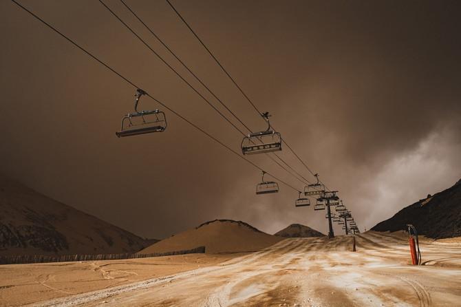 Saharski pesak u februaru ove godine nad Pirinejima