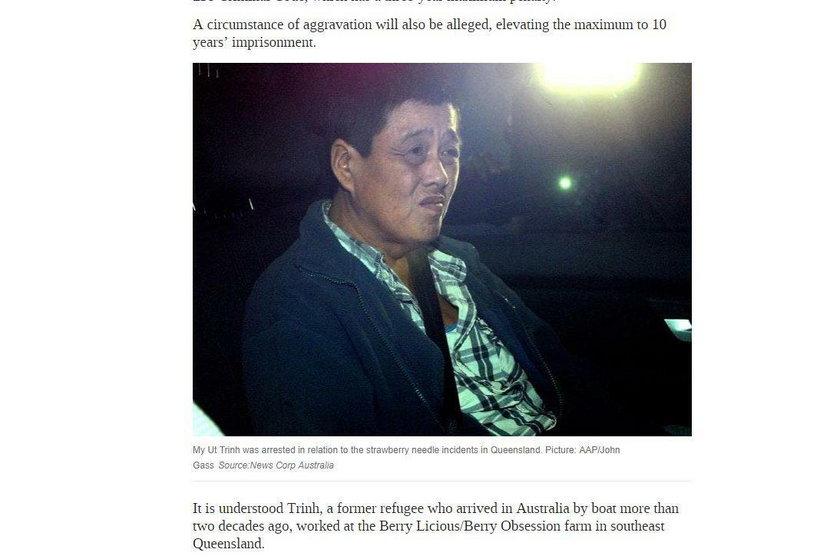 Australia: Wraca sprawa truskawek z igłami. Policja ma podejrzaną