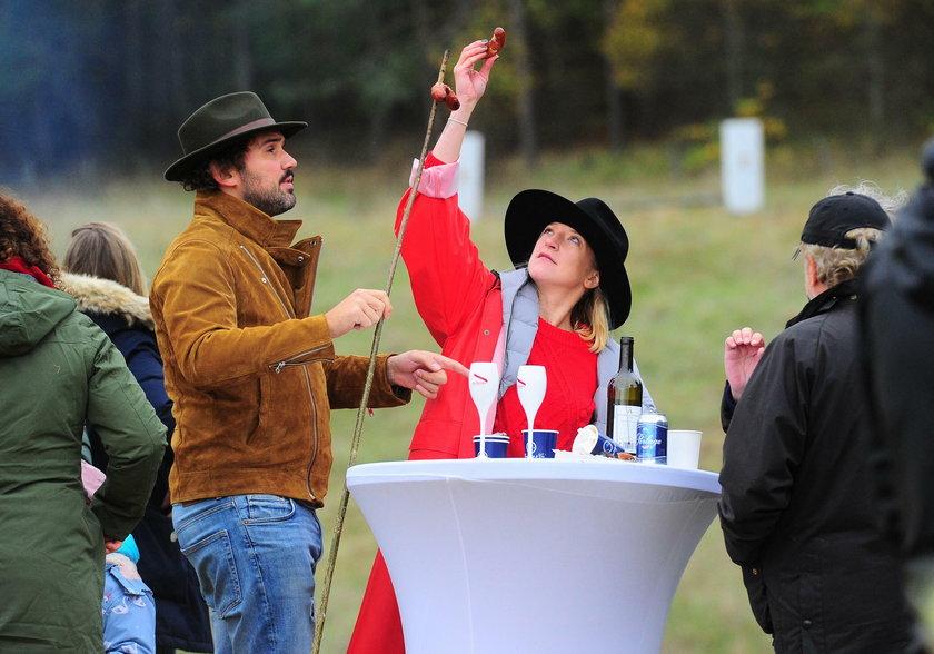 Lara Gessler i Piotr Szeląg