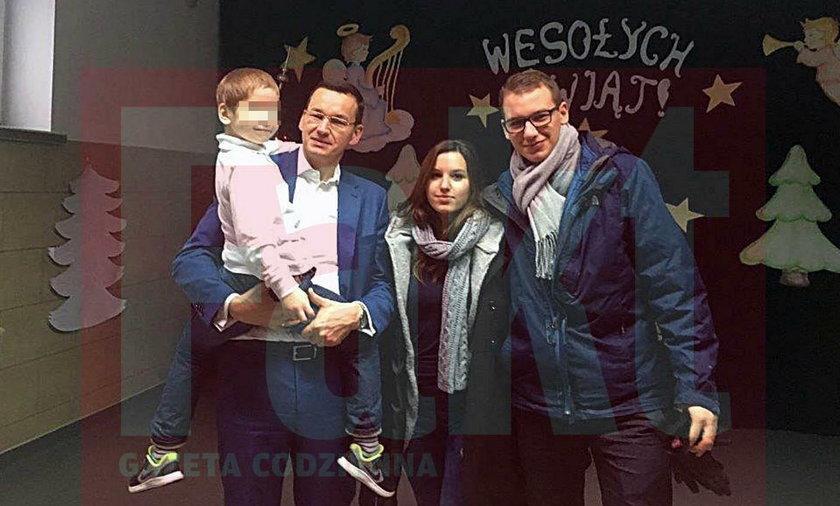 Rodzina premiera Morawieckiego