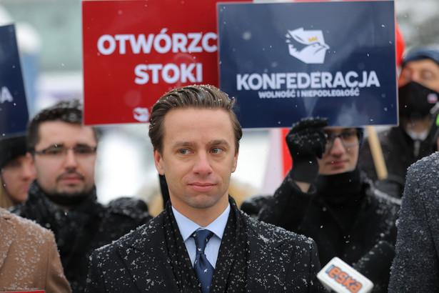 Krzysztof Bosak, fot. Marek Podmokły
