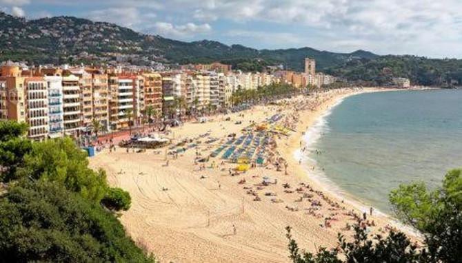 Plaža u Ljoret de Maru