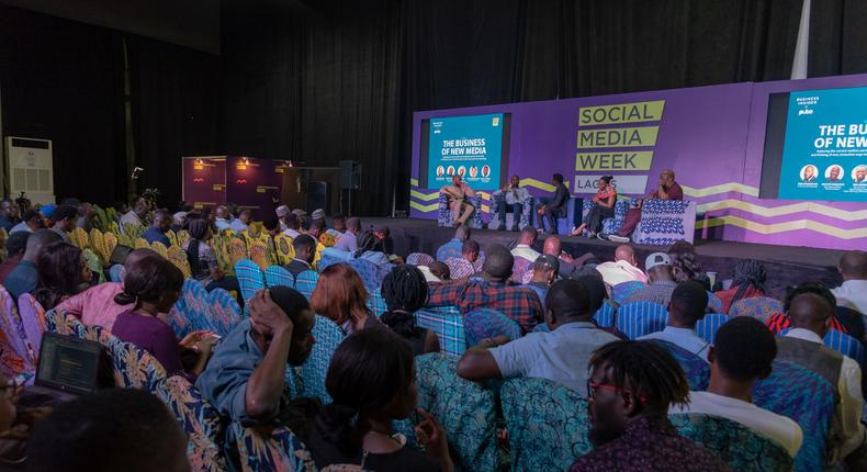 Panelists at the Business Insider SSA By Pulse session at the 2019 SMW Lagos