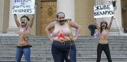 Nagie Ukrainki zaginęły po proteście na Białorusi
