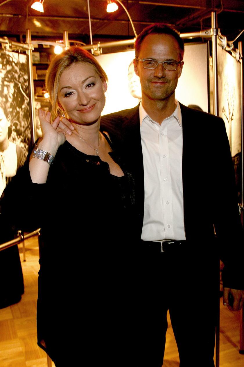 Martyna Wojciechowska z partnerem Jerzy Błaszczyk