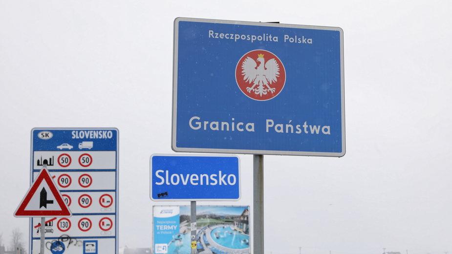 Podróż na Słowację musi zostać zarejestrowana