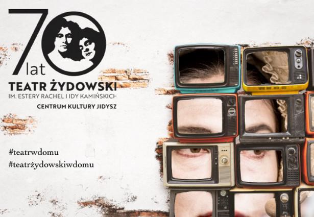 Wszystkie wydarzenia Teatru Żydowskiego będzie można śledzić na wirtualnej scenie na www.teatr-zydowski.art.pl i na teatralnym profilu na Facebooku.