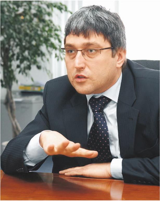 Wojciech Dąbrowski, prezes ARP, chce pomagać firmom Fot. Wojciech Górski