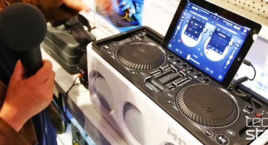 Philips M1X-DJ im Hands-on: DJ-System für iPhone und iPad