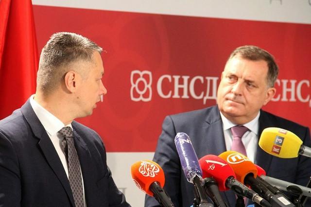 Nenad Nešić i Milorad Dodik