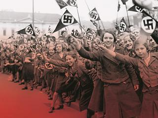 Mass enthusiasm in the National Socialist state