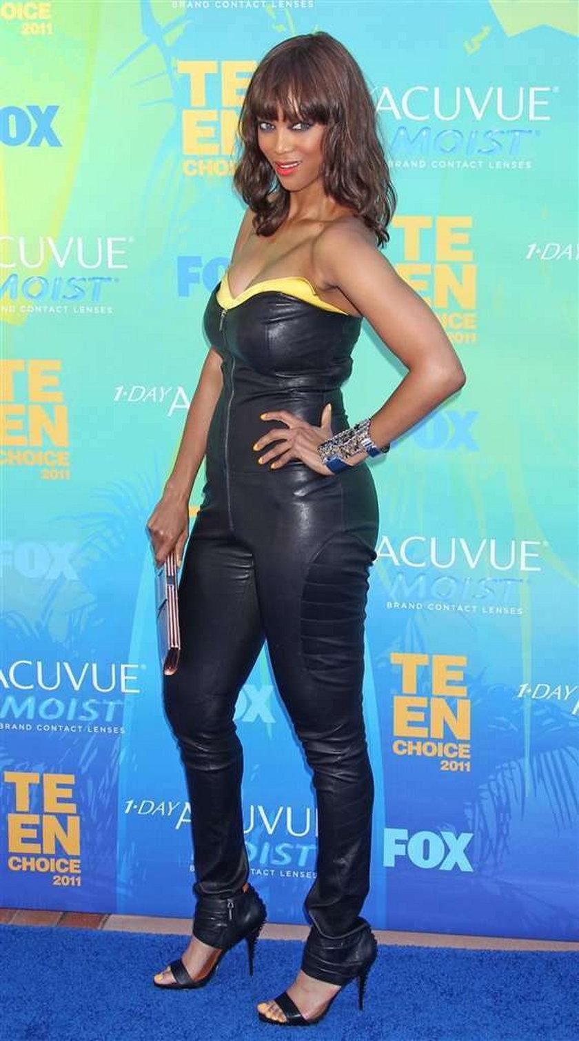 Tyra Banks waga