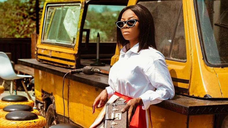 A disappointed Toke Makinwa is unimpressed about the postponement of the elections after so many preparation. [Instagram/tokemakinwa]