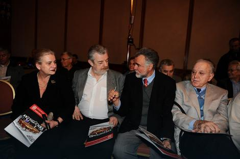 Gosti: Borka Pavićević, Branko Gligorić, Jovan Komšić, Vladimir Goati