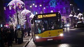 Warszawa: zmiany w komunikacji na święta