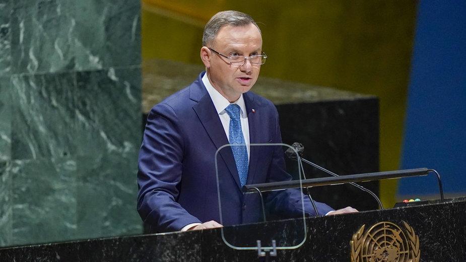W Nowym Jorku rozpoczęła się 76. sesja Zgromadzenia Ogólnego ONZ, w której bierze udział prezydent Andrzej Duda