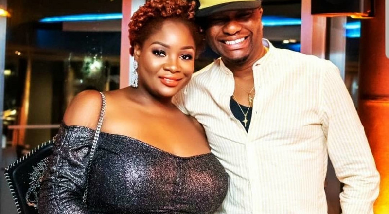 Toolz and hubby Tunde Demuren celebrate 4th wedding anniversary