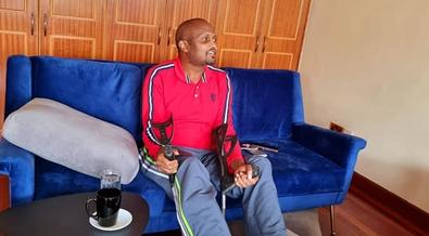 It's my first time - watch Moses Kuria walking unaided after accident [Video]